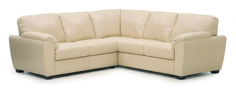 Lanza - Left Arm Sofa W/ Return, Right Arm Loveseat front view