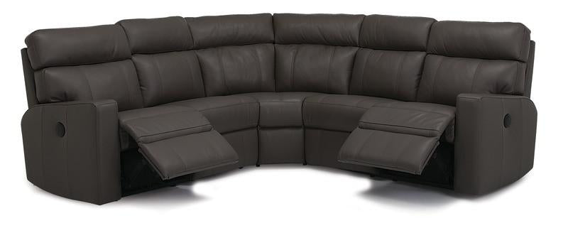 Oakwood - Left Arm Powered Loveseat, Armless Chair, Corner, Armless Chair, Right Arm Powered Loveseat front view
