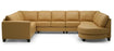 Juno - Left Arm Sofa W/ Return, Armless Loveseat, Right Arm Chaise front view