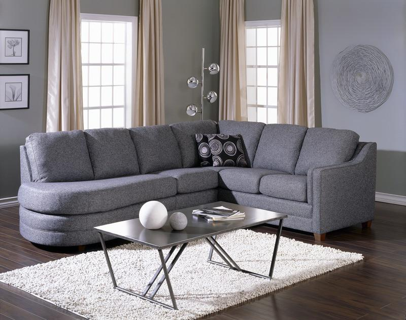 Corissa - example living room Left Arm Chaise, Right Arm Sofa