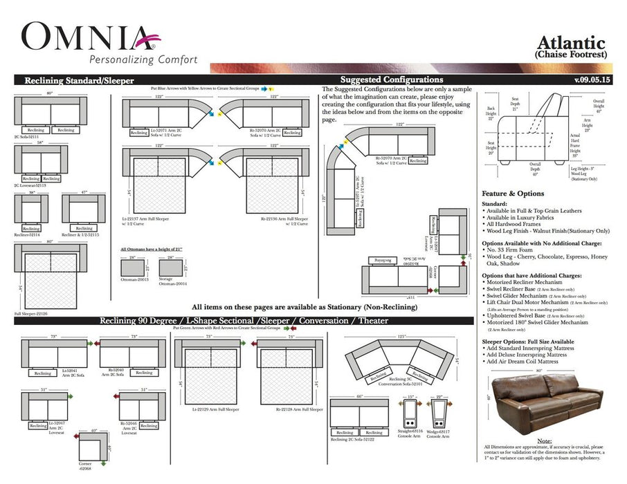 Omnia Atlantic - leatherfurniture