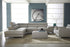 Natuzzi Saggezza Sectional B619 - leatherfurniture