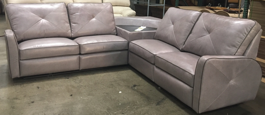Omnia Bahama Sectional - leatherfurniture