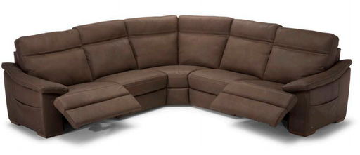 Natuzzi Pazienza Sectional C012 - leatherfurniture