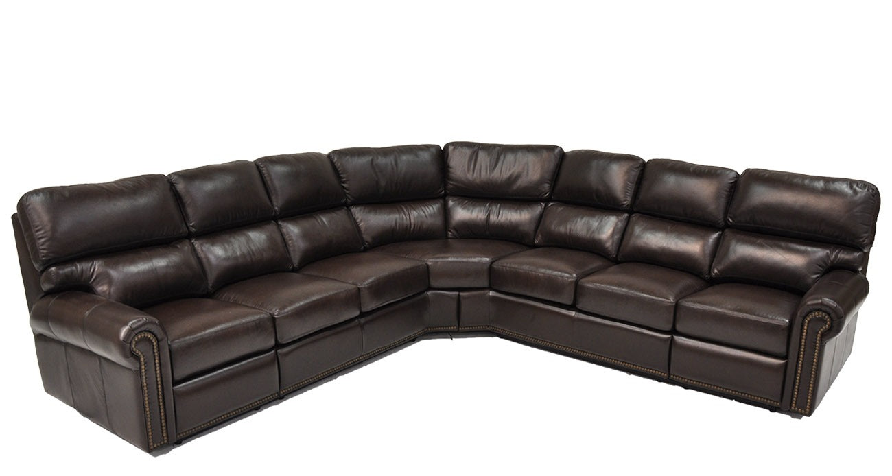 Omnia Carlton Sectional - leatherfurniture