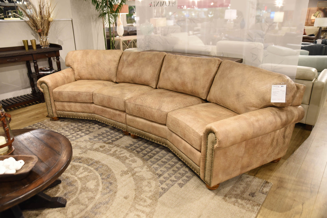 Omnia Dominion Sofa - leatherfurniture