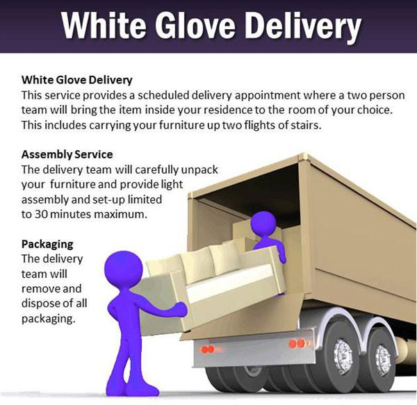 White Glove Delivery