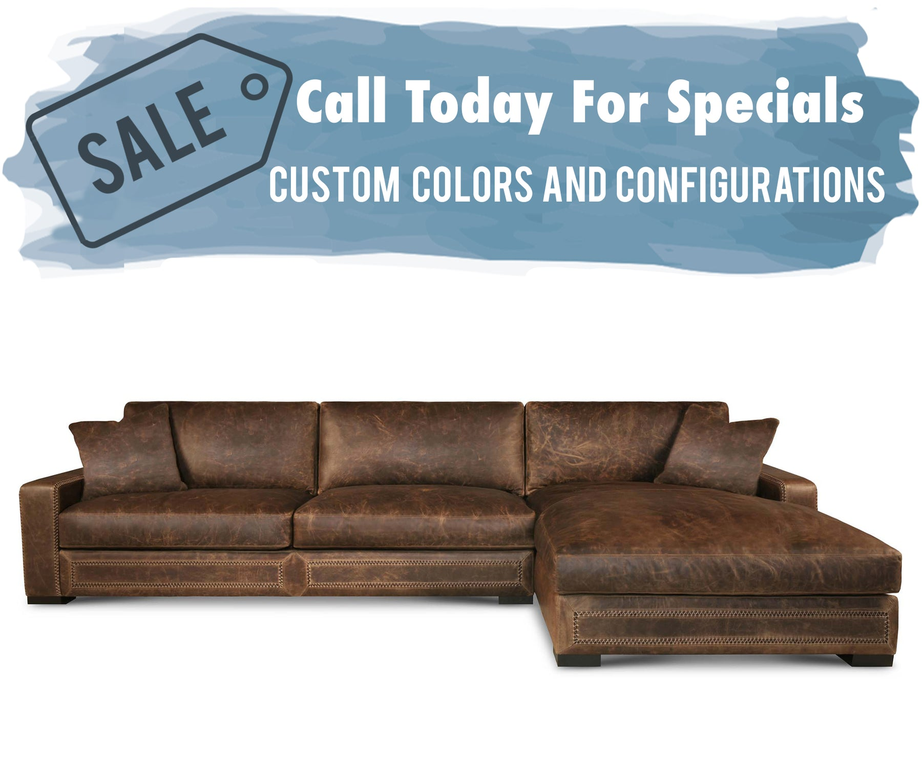 Eleanor Rigby Downtown Cowboy Sectional
