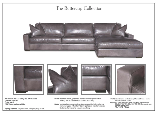 Eleanor Rigby Buttercup - leatherfurniture