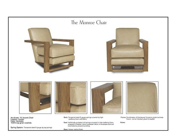 Eleanor Rigby Monroe - leatherfurniture