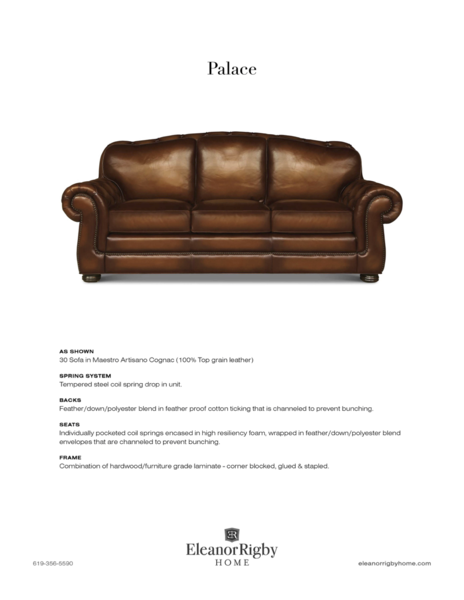 Eleanor Rigby Palace - leatherfurniture