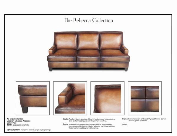 Eleanor Rigby Rebecca - leatherfurniture