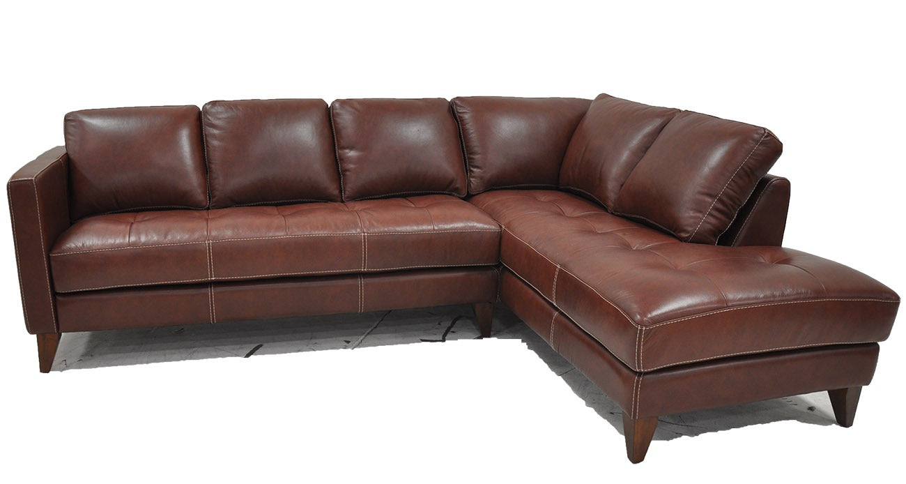 Omnia Hartford Sectional - leatherfurniture