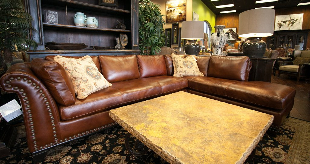 Omnia Kingsley Sectional - leatherfurniture