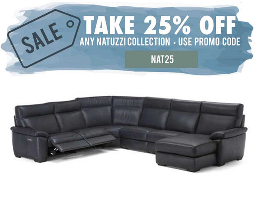 Natuzzi Editions Empatia Sectional C007