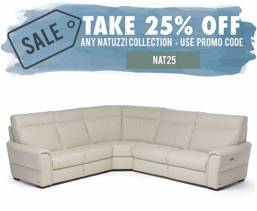 Natuzzi Editions  Energia Sectional C046