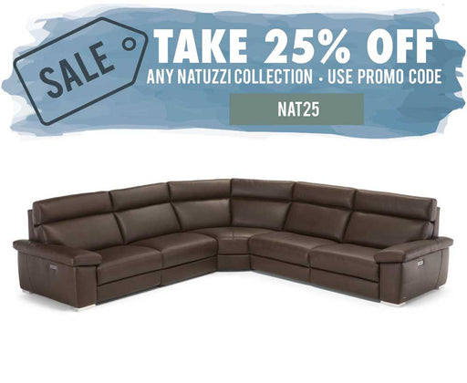 Natuzzi Editions Furore Sectional C134