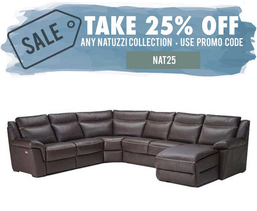 Natuzzi Editions B865 Gaetano Sectional