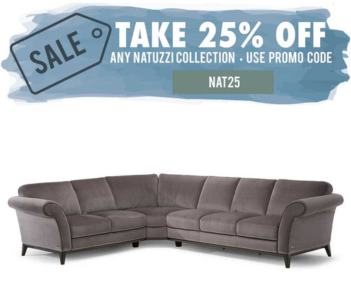 Natuzzi Editions Letizia C058 Sectional