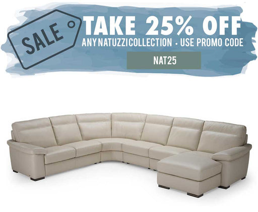 Natuzzi Editions Onore Sectional B814