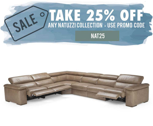 Natuzzi Editions Raffaele B620 Sectional