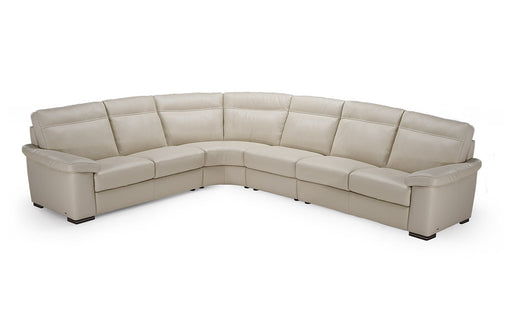 Natuzzi Onore Sectional B814 - leatherfurniture