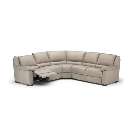 Natuzzi Giuseppe Sectional A319 - leatherfurniture