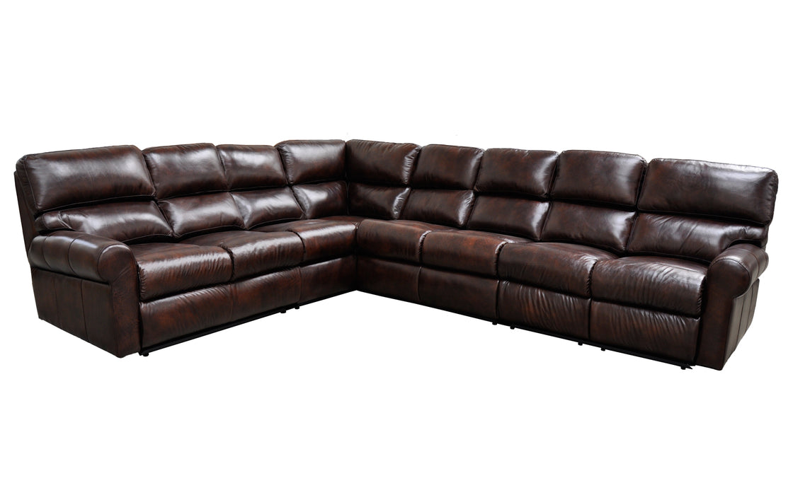 Omnia Brookhaven Sectional - leatherfurniture
