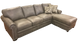 Omnia Georgia Sectional - leatherfurniture