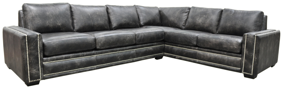 Omnia Ashton Sectional - leatherfurniture