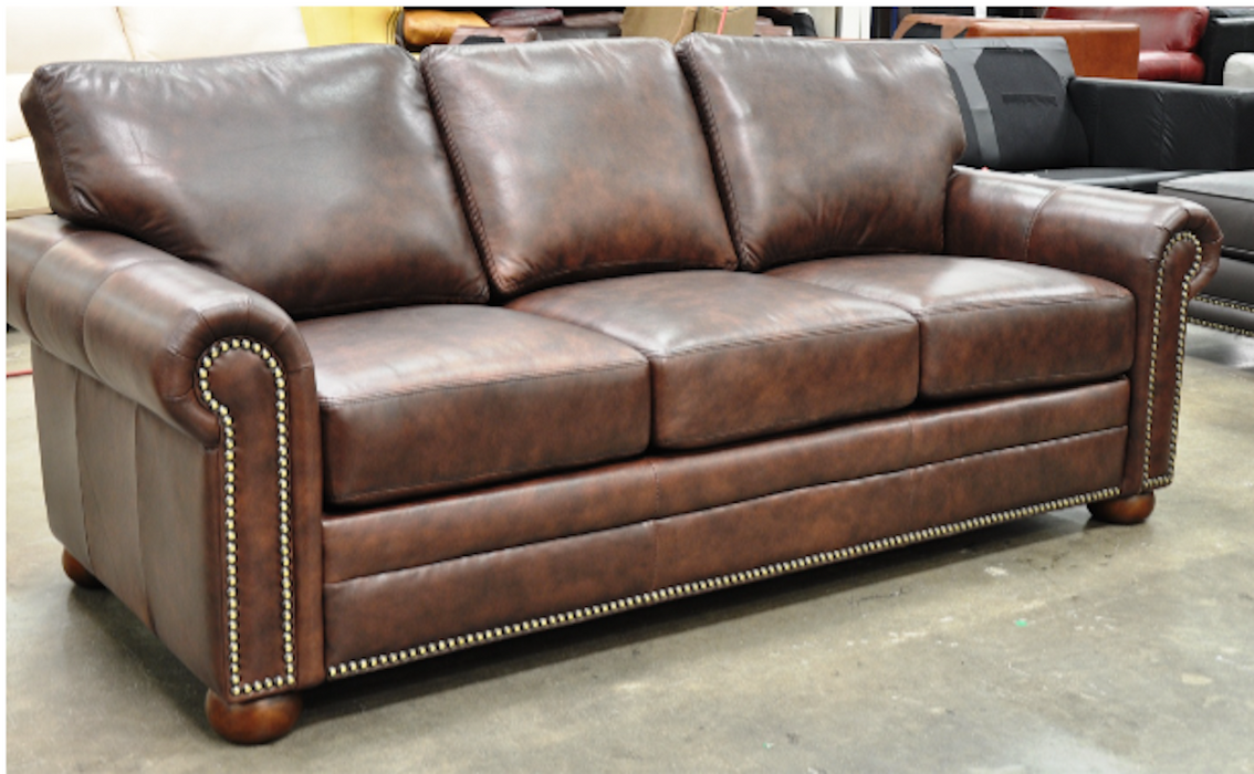 Omnia Georgia Sofa - leatherfurniture