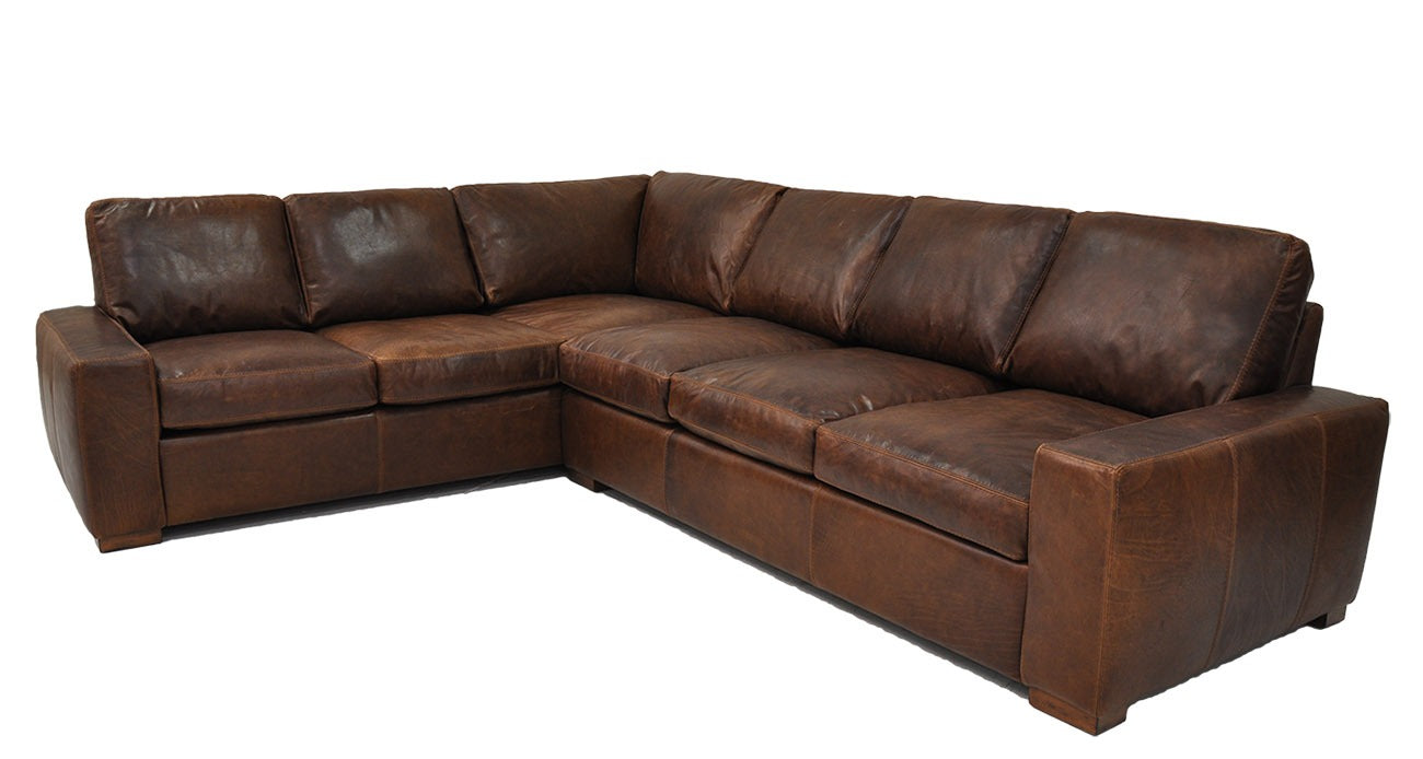 Omnia Max 3 Super Sectional - leatherfurniture