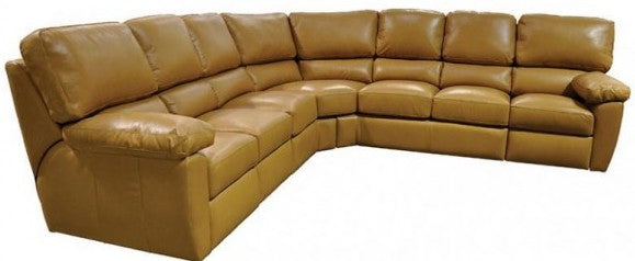 Omnia Vercelli Sectional - leatherfurniture