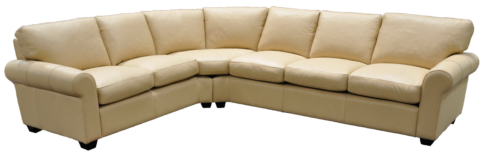 Omnia West Point Sectional - leatherfurniture