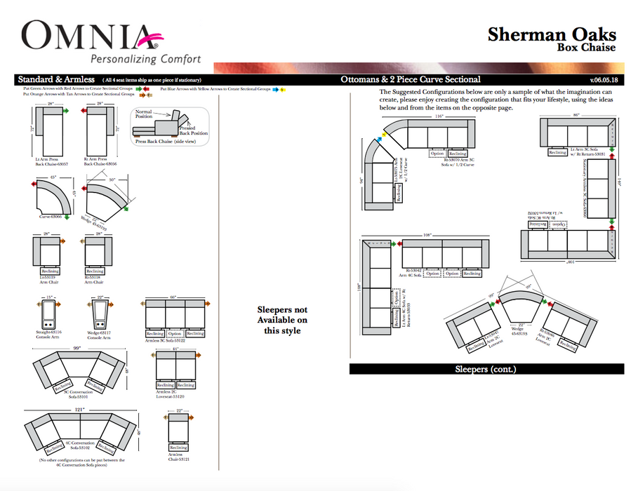 Omnia Sherman Oaks Sectional