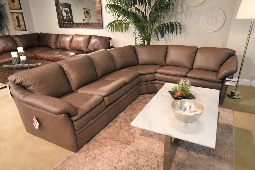 Omnia Uptown Sectional - leatherfurniture
