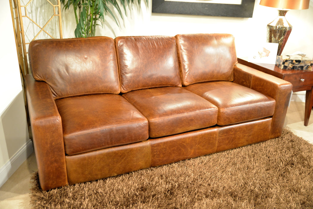 Omnia City Craft Sectional - leatherfurniture