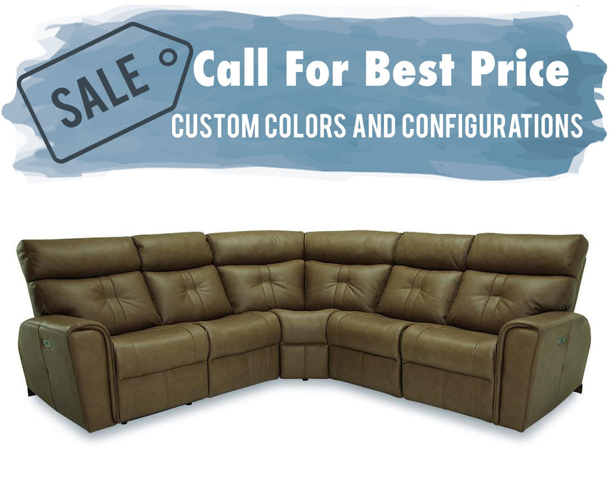 Palliser Acacia Sectional 41080