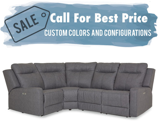 Palliser Redwood Sectional 41057
