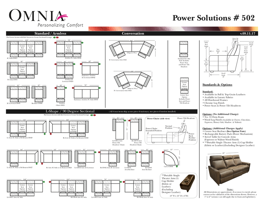 Omnia Power Solutions 502 - leatherfurniture