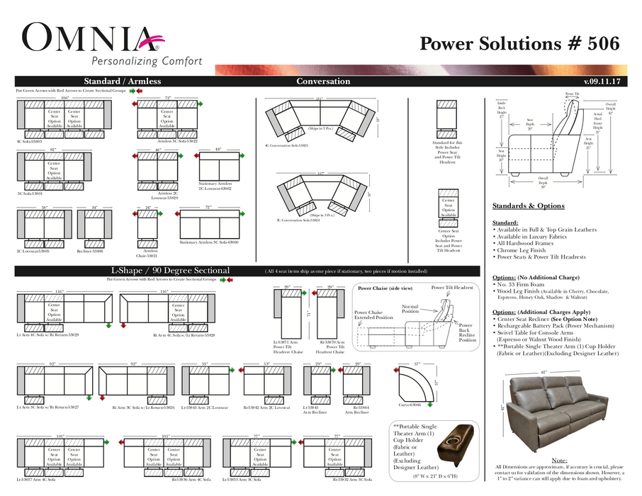 Omnia Power Solutions 506 - leatherfurniture