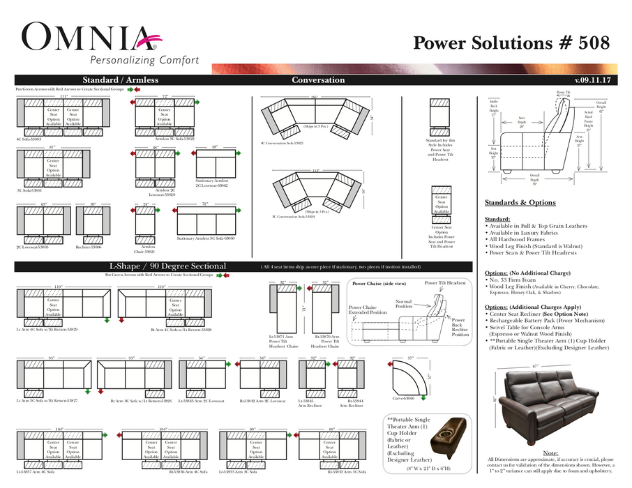 Omnia Power Solutions 508 - leatherfurniture
