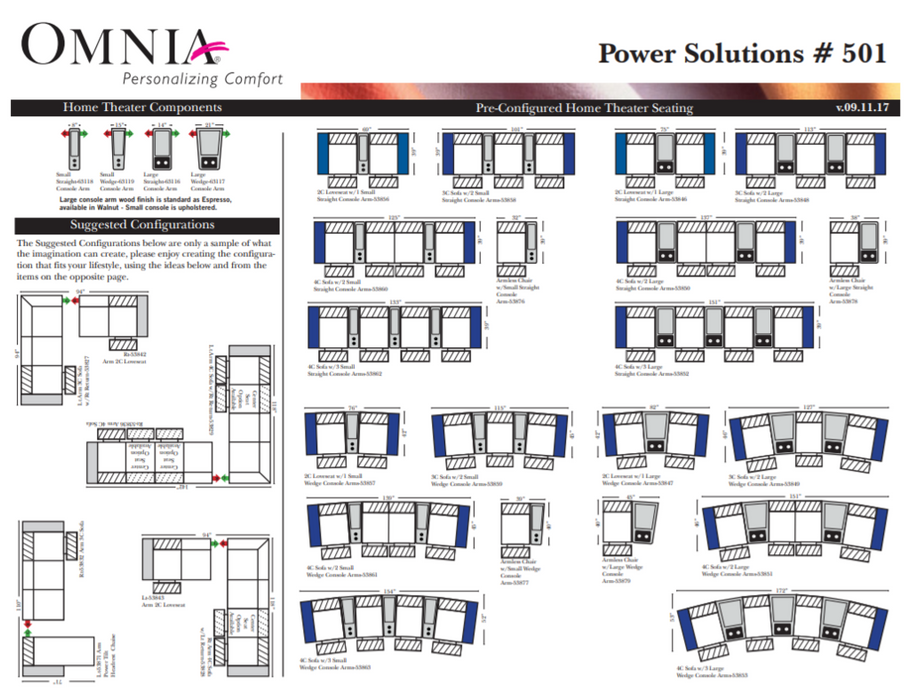Omnia Power Solutions Theater - leatherfurniture
