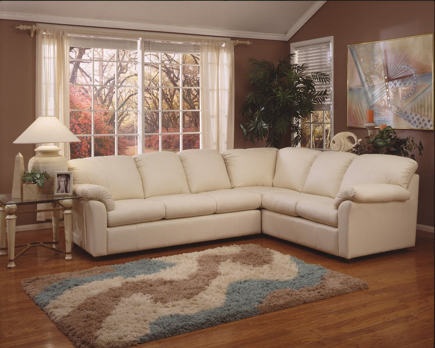Omnia Tahoe Sectional - leatherfurniture
