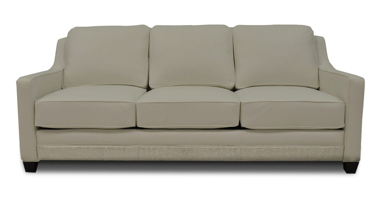 Omnia Times Square Sectional - leatherfurniture