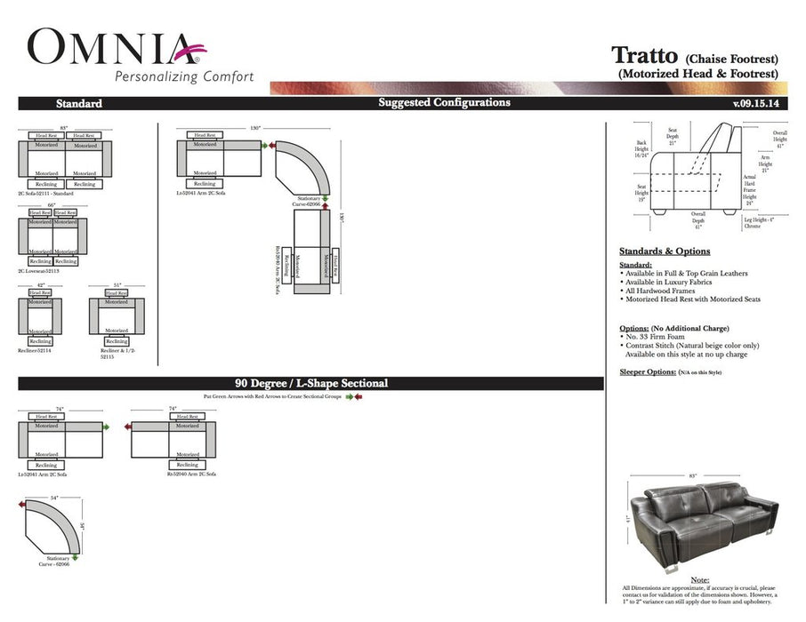 Omnia Tratto - leatherfurniture