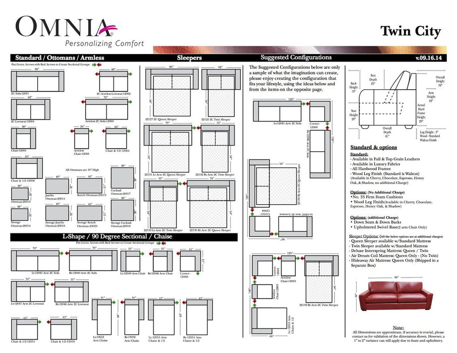 Omnia Twin City - leatherfurniture