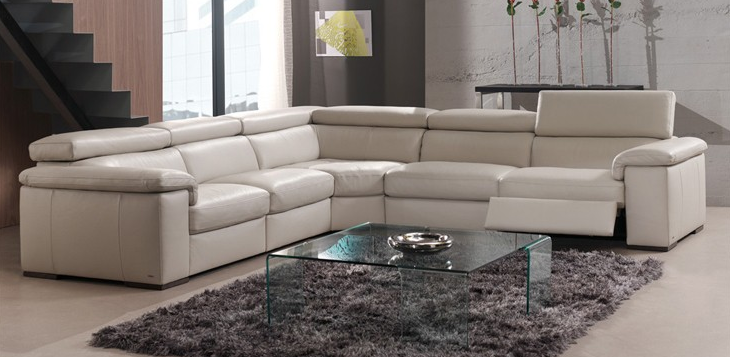 Natuzzi Raffaele Theater B620 - leatherfurniture