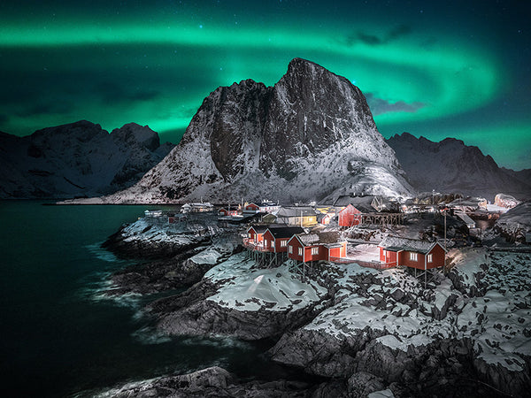Northern Lights over Hamnoy