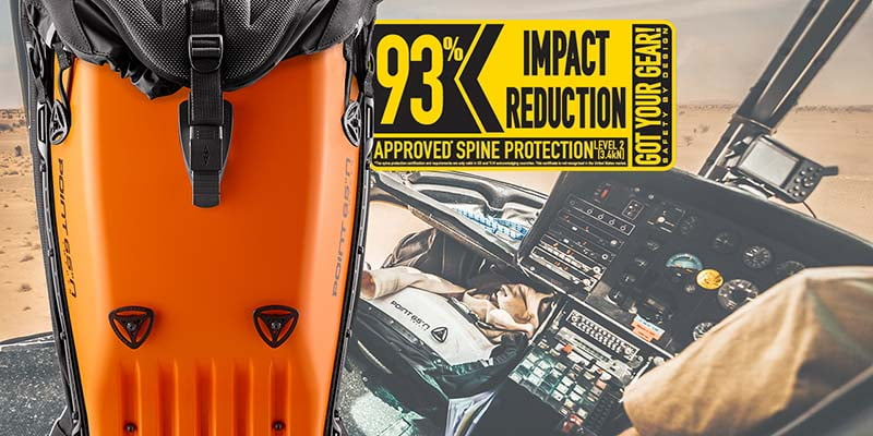 BOBLBEE BACKPACK IMPROVED IMPACT REDUCTION RATINGS - NOW UP TO 93%!